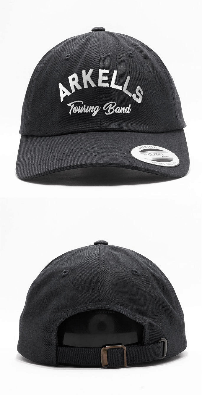 Arkells - Touring Band - Black Dad Hat
