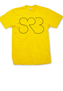 SRB -Outlined- Guys T-Shirt - Mustard