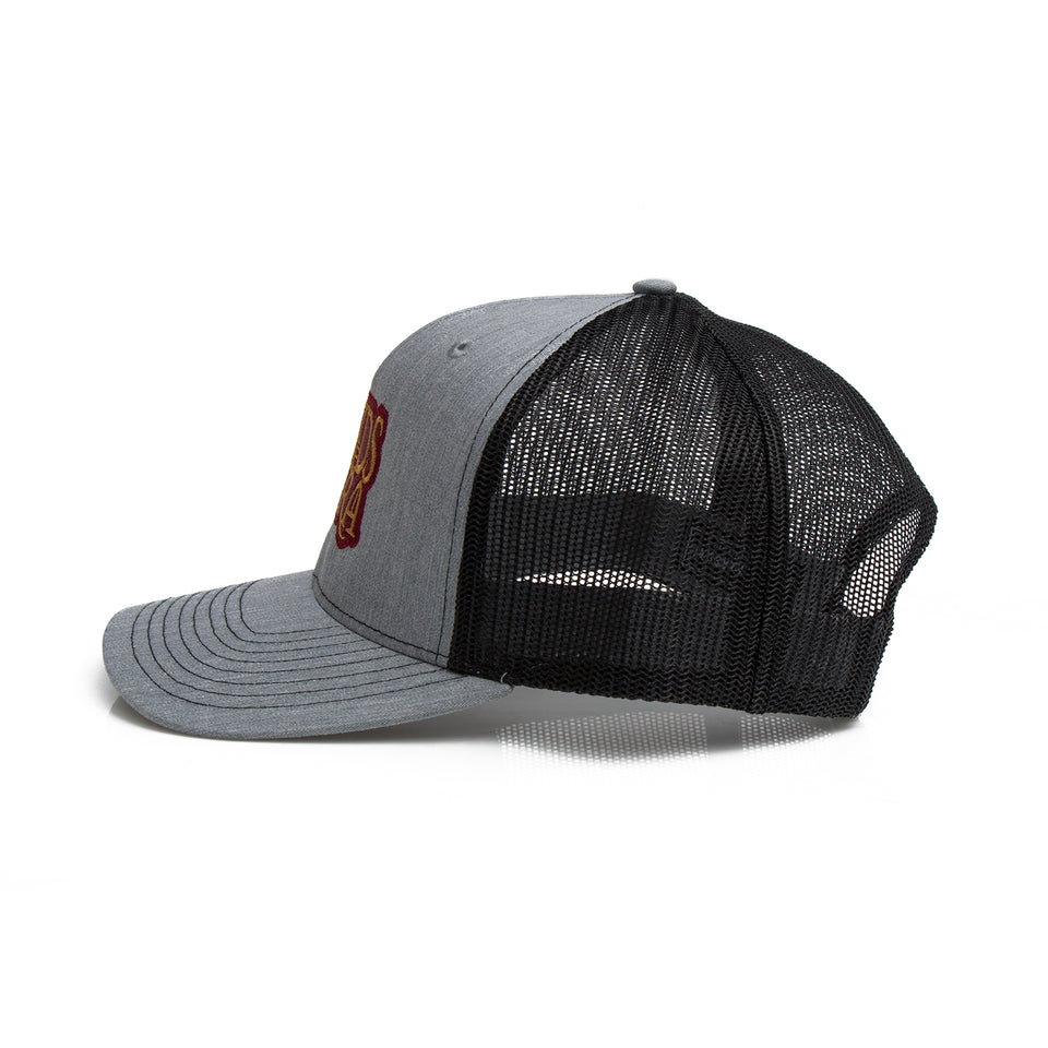 Bonds Of Mara - Logo - Black / Gray Trucker Hat
