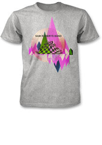 SRB -Abstract- T-Shirt - Athletic Grey
