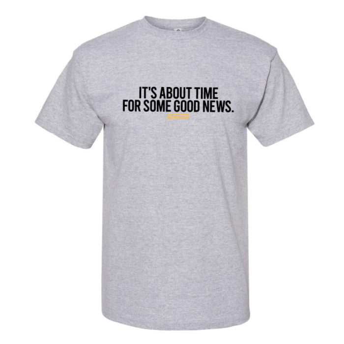 Classified - Good Times - Athletic Grey Tee