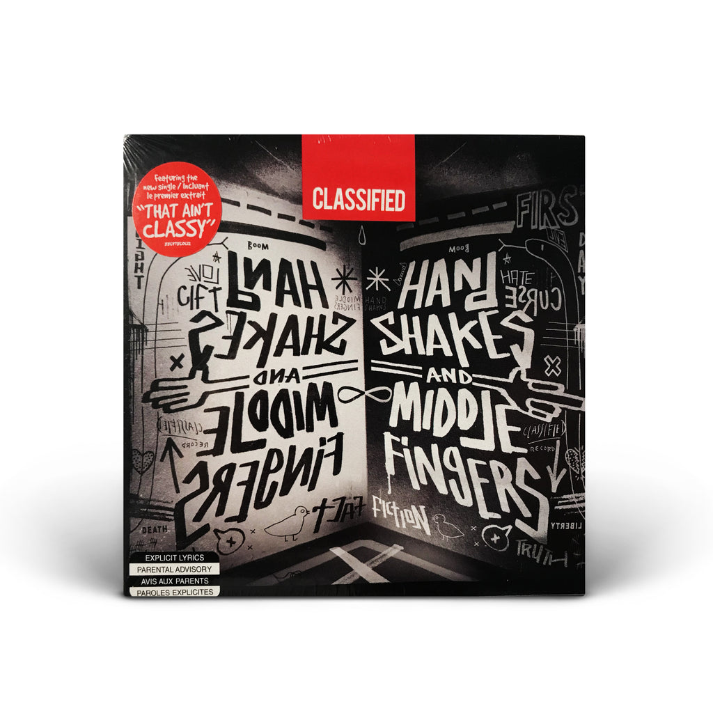 Classified - Hand Shakes and Middle Fingers CD