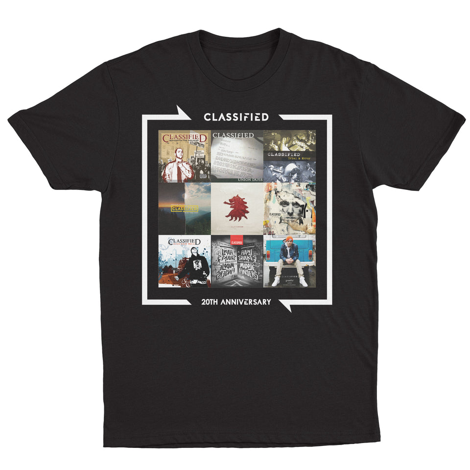 Classified - Limited Edition 20th Anniversary - Unisex Tee