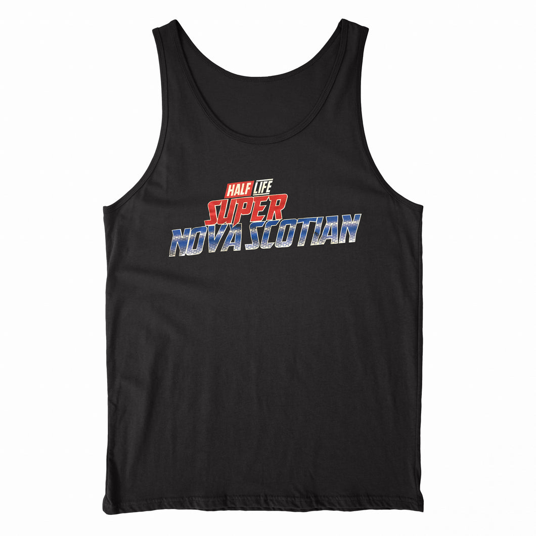 Classified - Super Nova Scotian - Black Unisex Tank Top