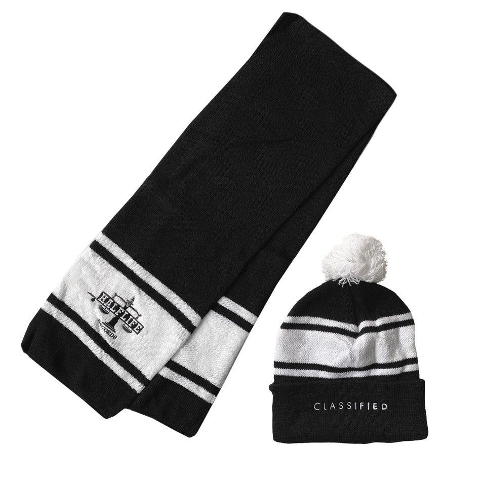 Classified - Knit Hat + Scarf Bundle