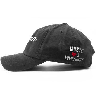 SOCAN - Music Loves Everybody - Black Dad Hat