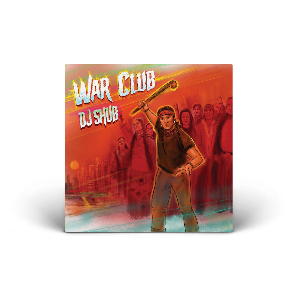 PRE ORDER - DJ Shub - War Club - CD