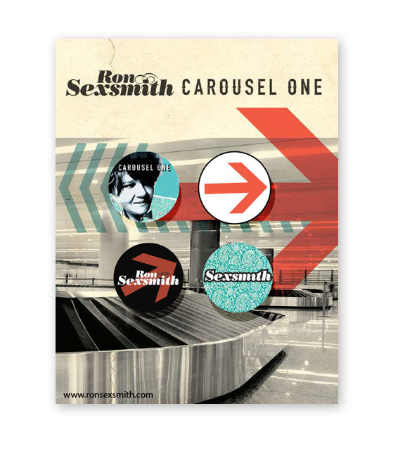 RON SEXSMITH - Carousel One - PIN PACK