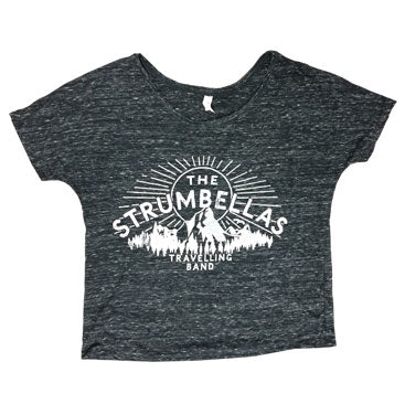 The Strumbellas Travelling Band Ladies Boxy Tee