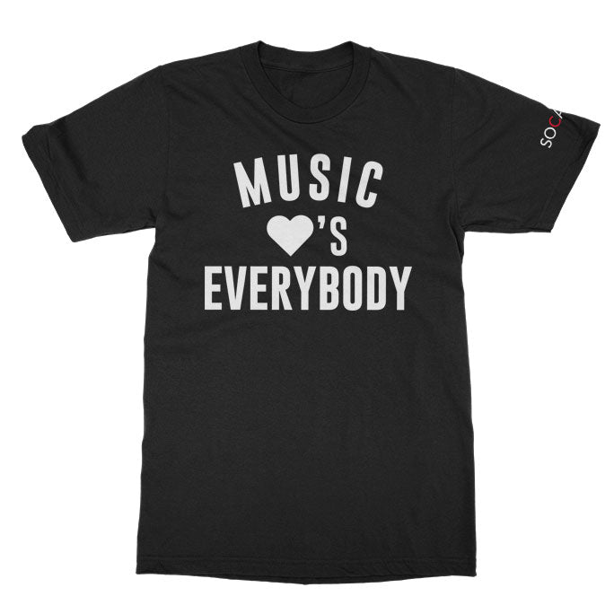 SOCAN - Music Loves Everybody - Black Tee