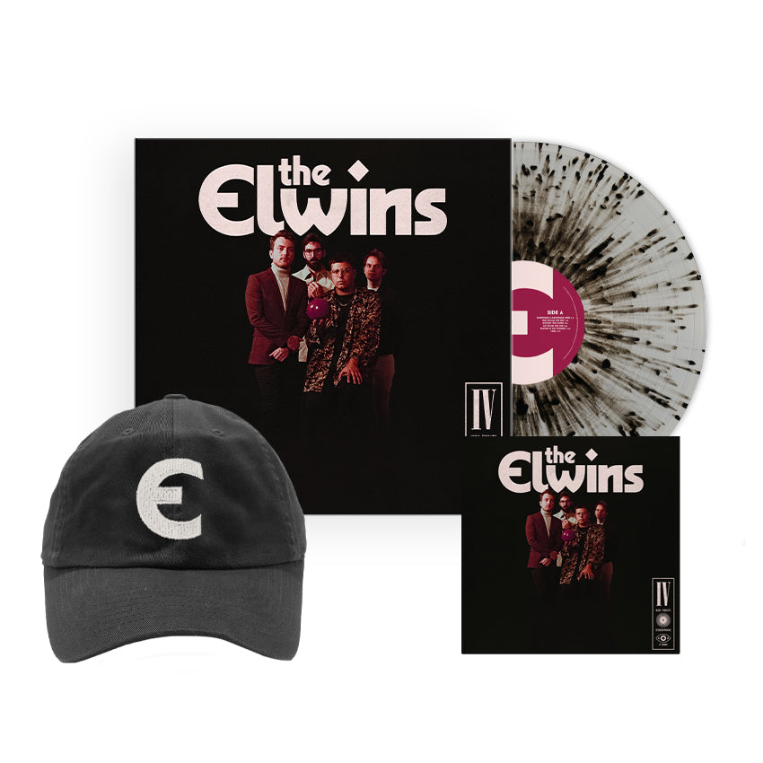 PRE ORDER - The Elwins - Silver Album Bundle