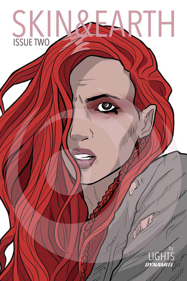 Lights Skin And Earth Issue 2 Comic Cover B