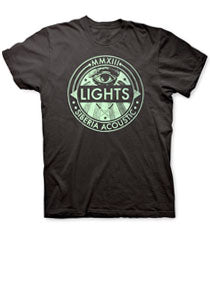 LIGHTS -Acoustic Siberia- T-Shirt - Black