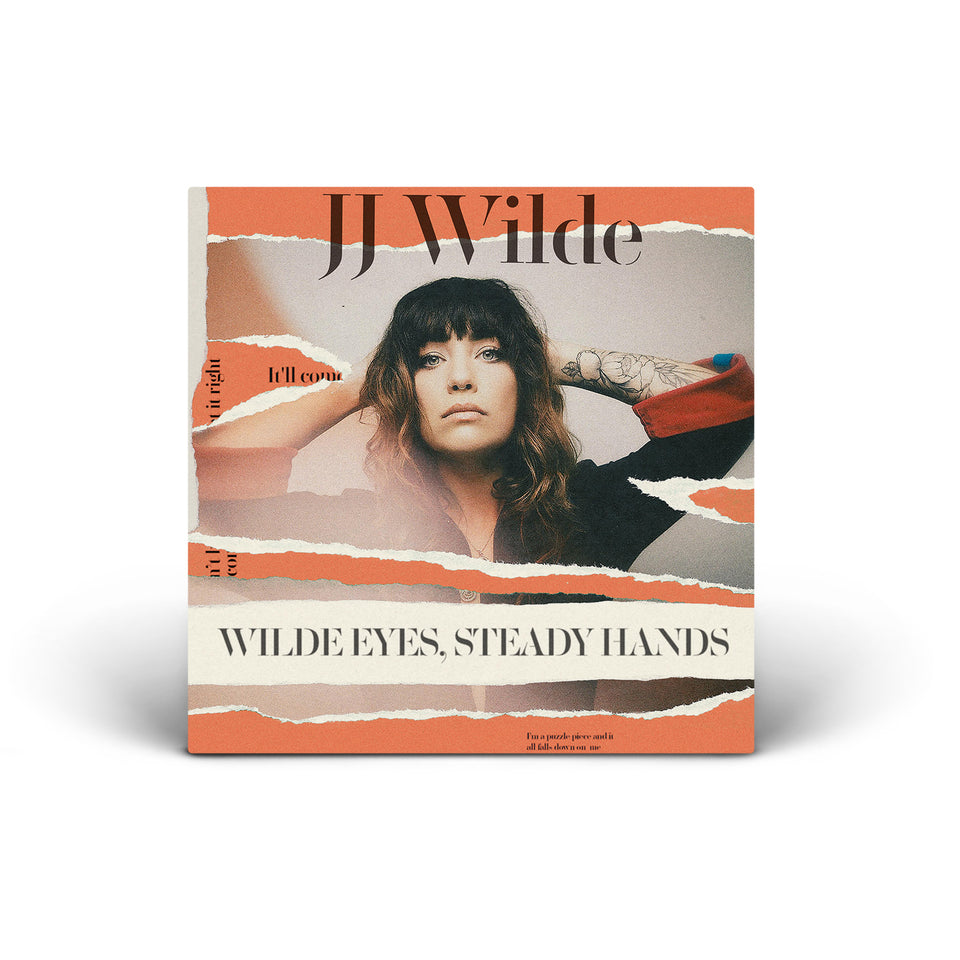 JJ Wilde - Wilde Eyes, Steady Hands - CD