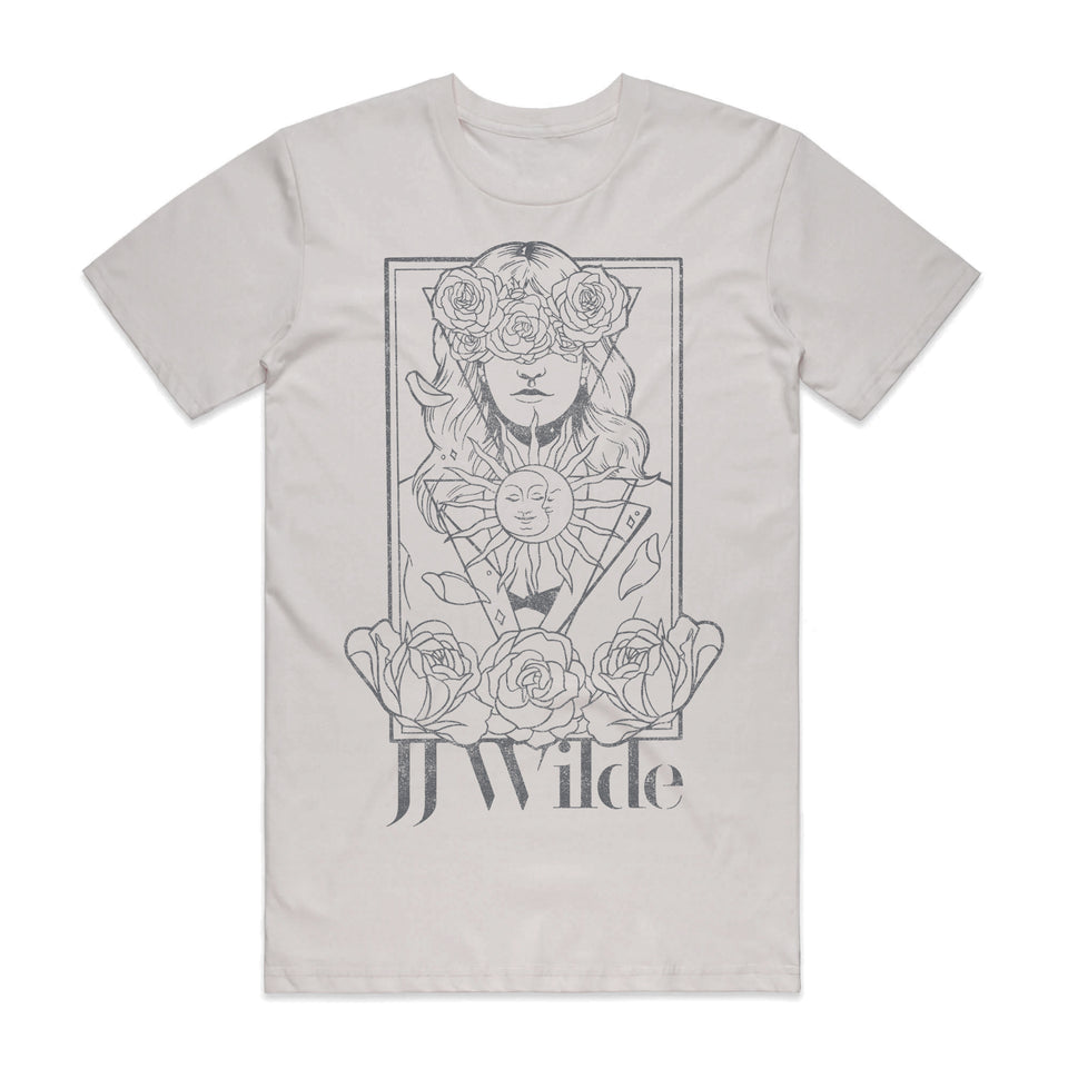 Copy of JJ Wilde - Staple - Ice Gray Unisex Tee