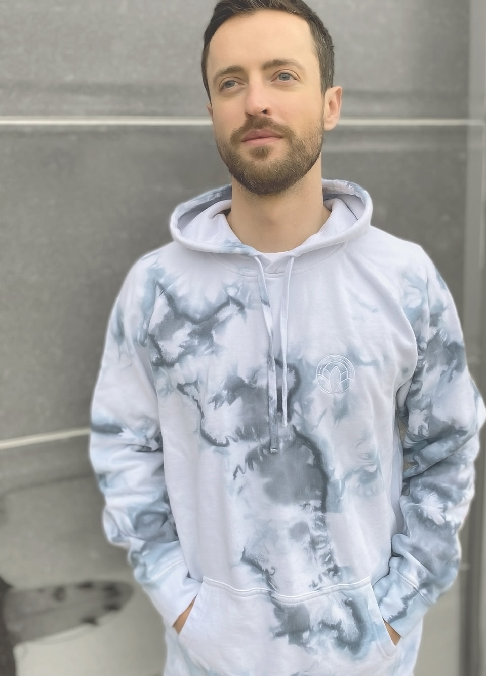 Kailani Living - Limited Edition - Marble Tie Dye Pullover Hoodie