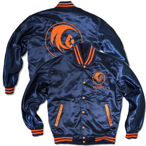 LIGHTS Varsity Jacket