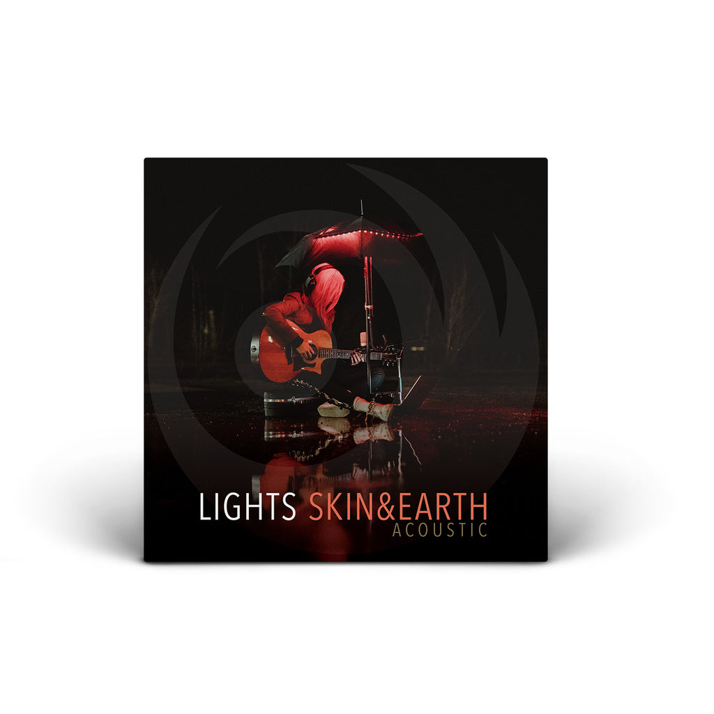 PRE ORDER - LIGHTS Skin and Earth Acoustic - CD