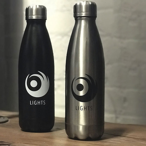 LIGHTS Swirl Premium Water Bottles