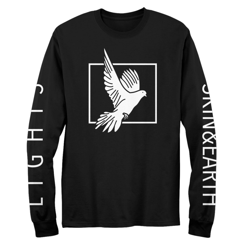 LIGHTS Animal Box - Black Long Sleeve Tee