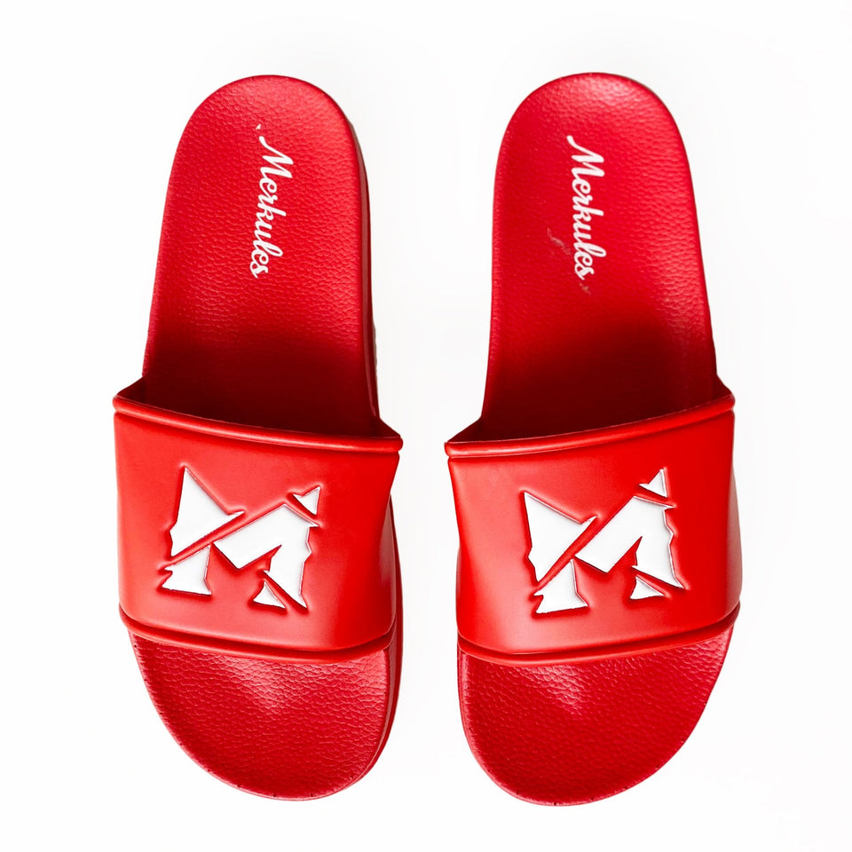Merkules - M Logo - Red Slides