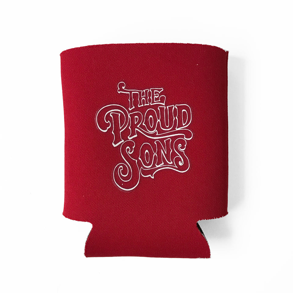 The Proud Sons - Beverage Koozie - Red