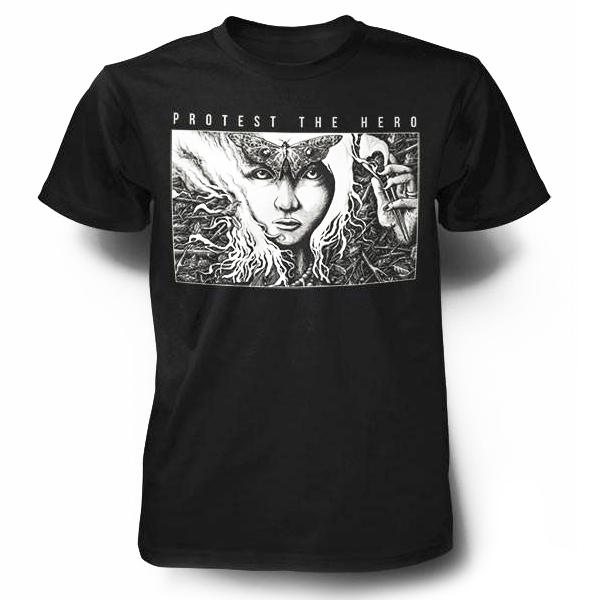 PROTEST THE HERO Butterfly Girl Black T-Shirt