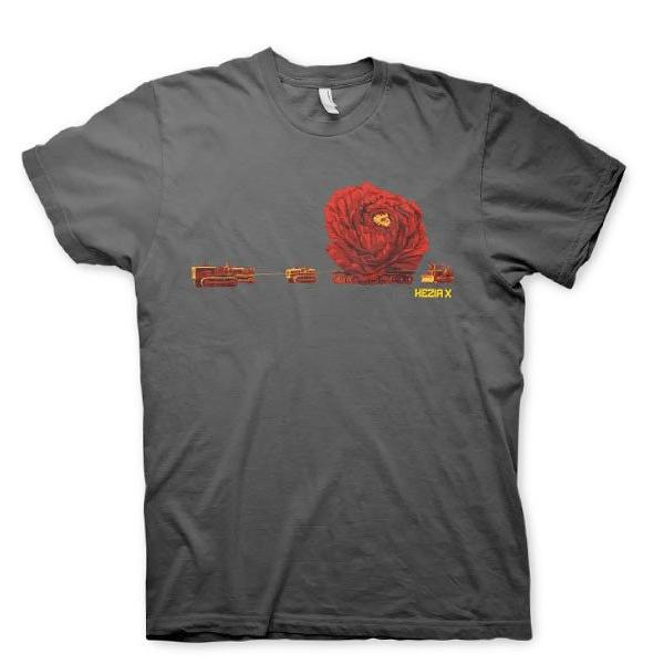 PROTEST THE HERO - Flower Train - Gray T-Shirt