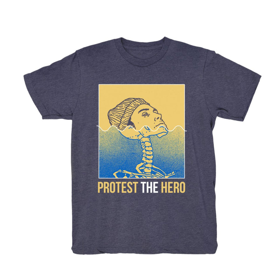 PROTEST THE HERO - Life Aquatic - Heather Navy Tee