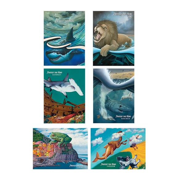 Protest The Hero - Pacific Myth Poster Print Set