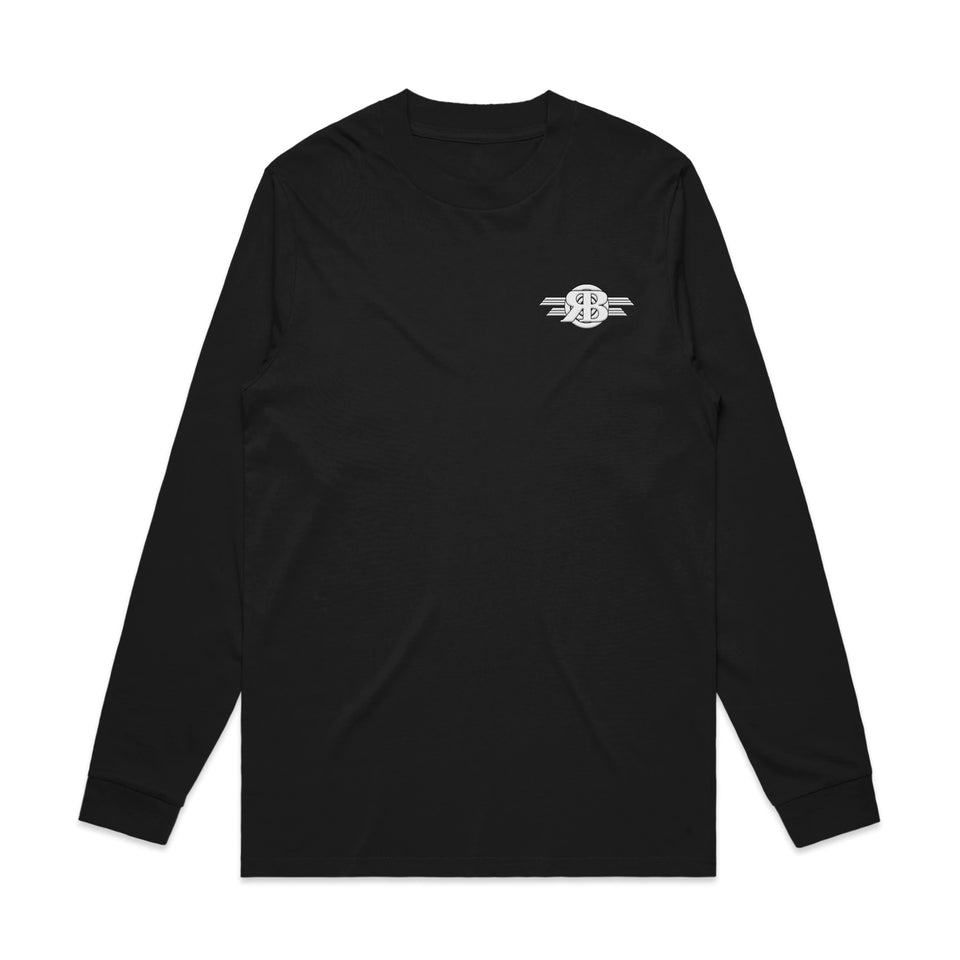 Randy Bachman - Logo Embroidered Long Sleeve