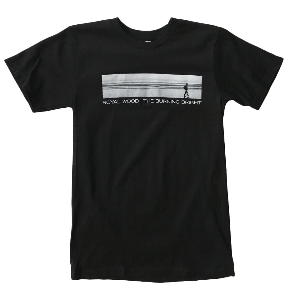 Royal Wood - Burning Bright - Black Tee