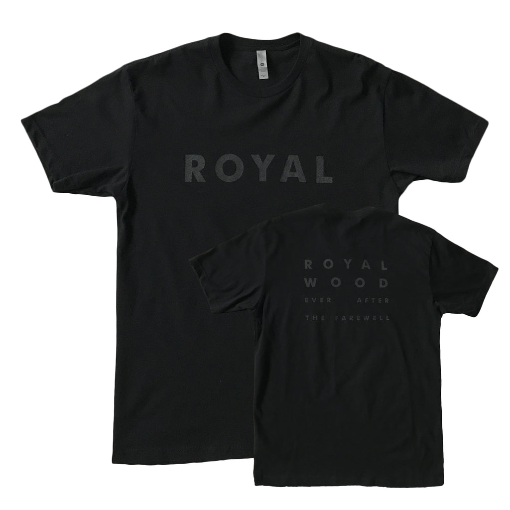 Royal Wood - Ever After The Farewell - Black Tee