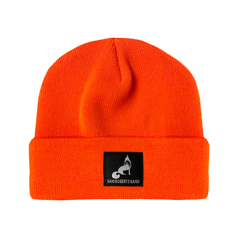 SRB Wolf Beanie - Orange
