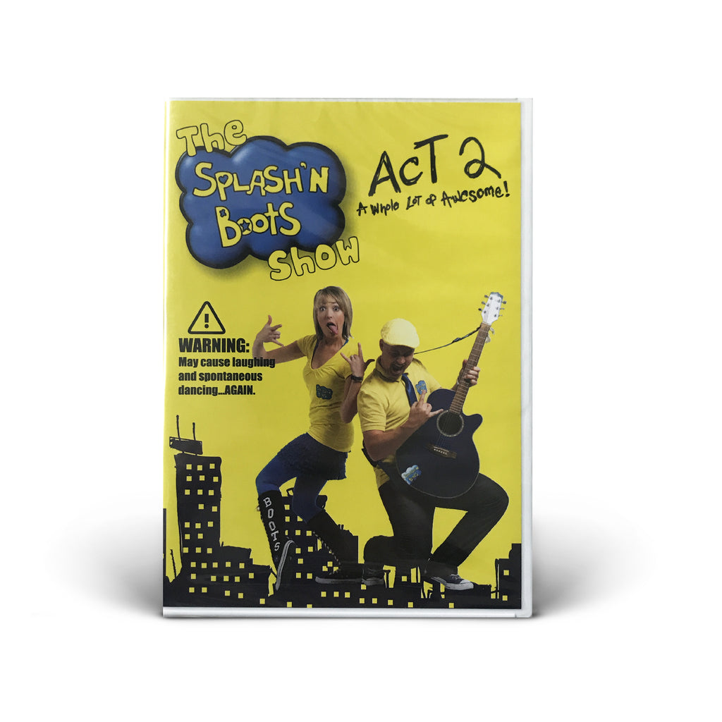 Splash N Boots - The Splash'N Boots Show - Act 2 - DVD