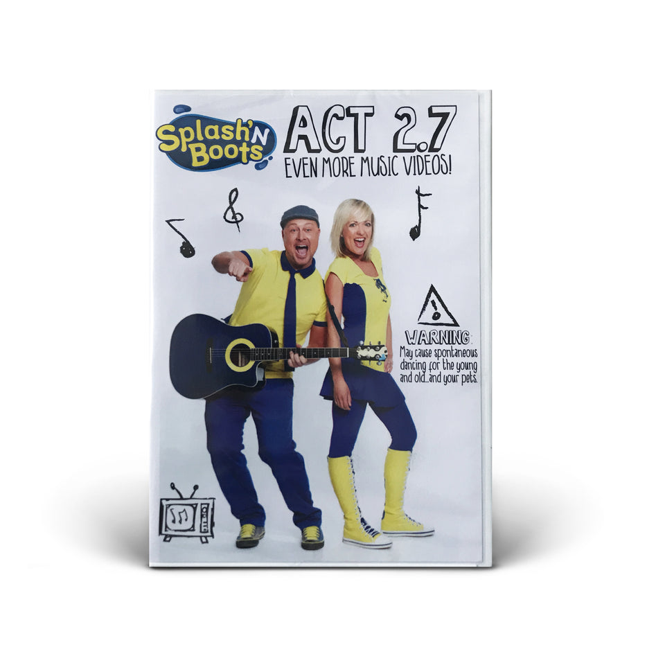 Splash N Boots - Act 2.7 DVD - Even More Music Videos! - DVD