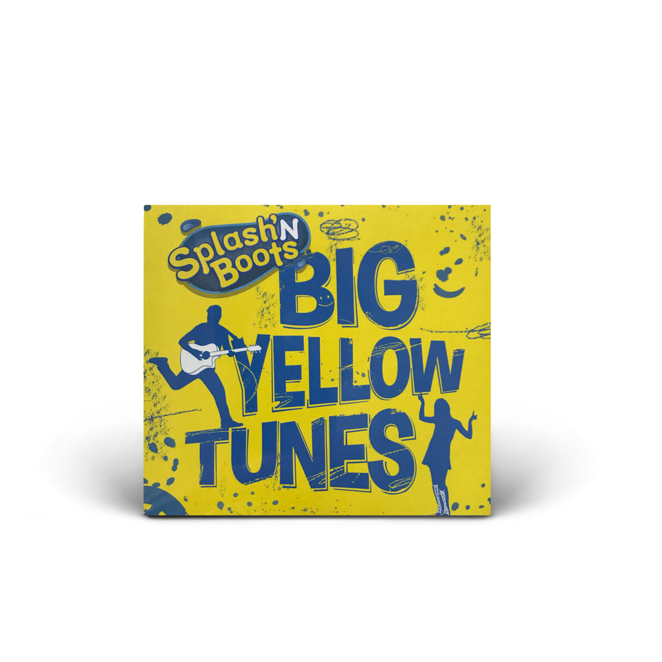 Splash N Boots - Big Yellow Tunes - CD Album