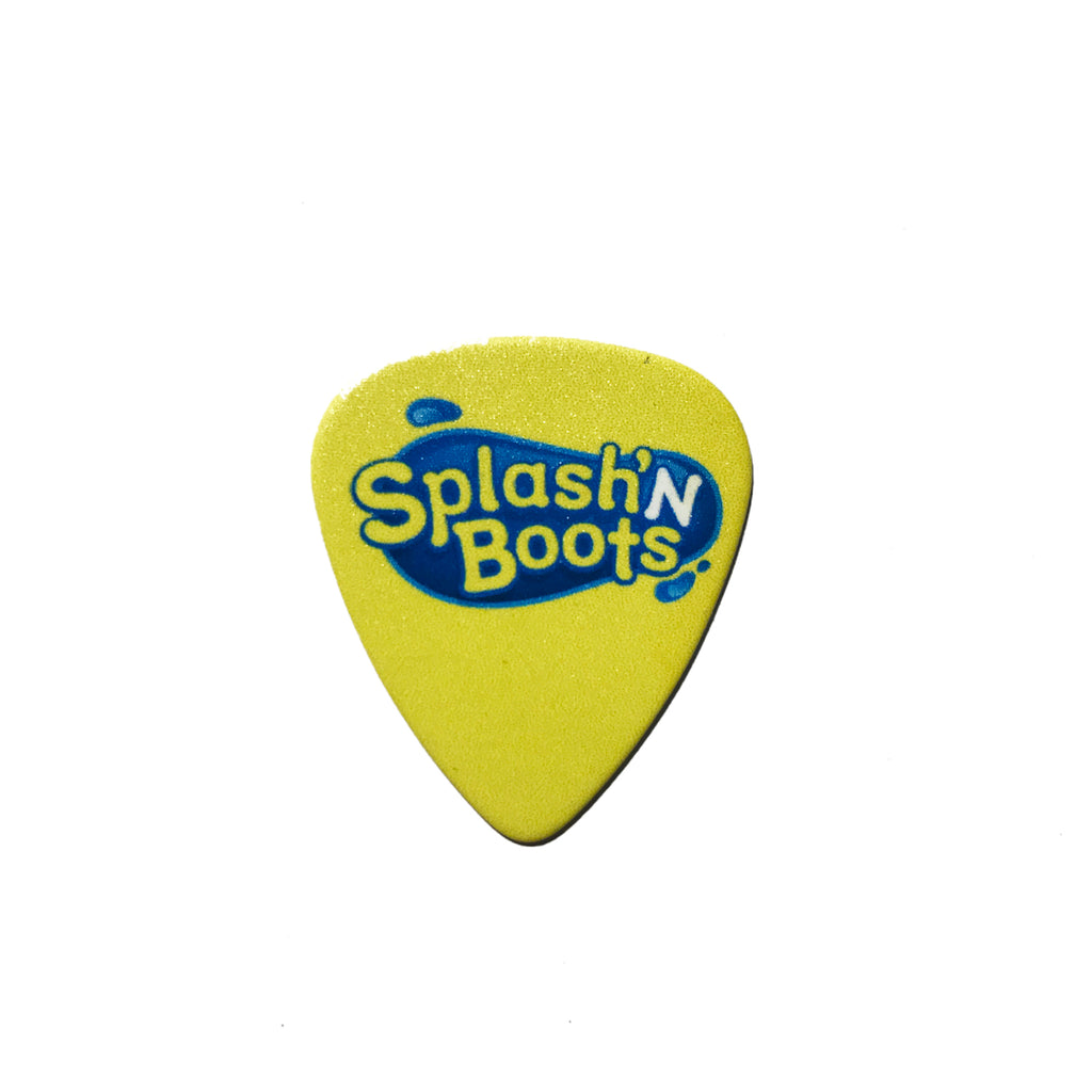 Splash N Boots - Guitar Pick