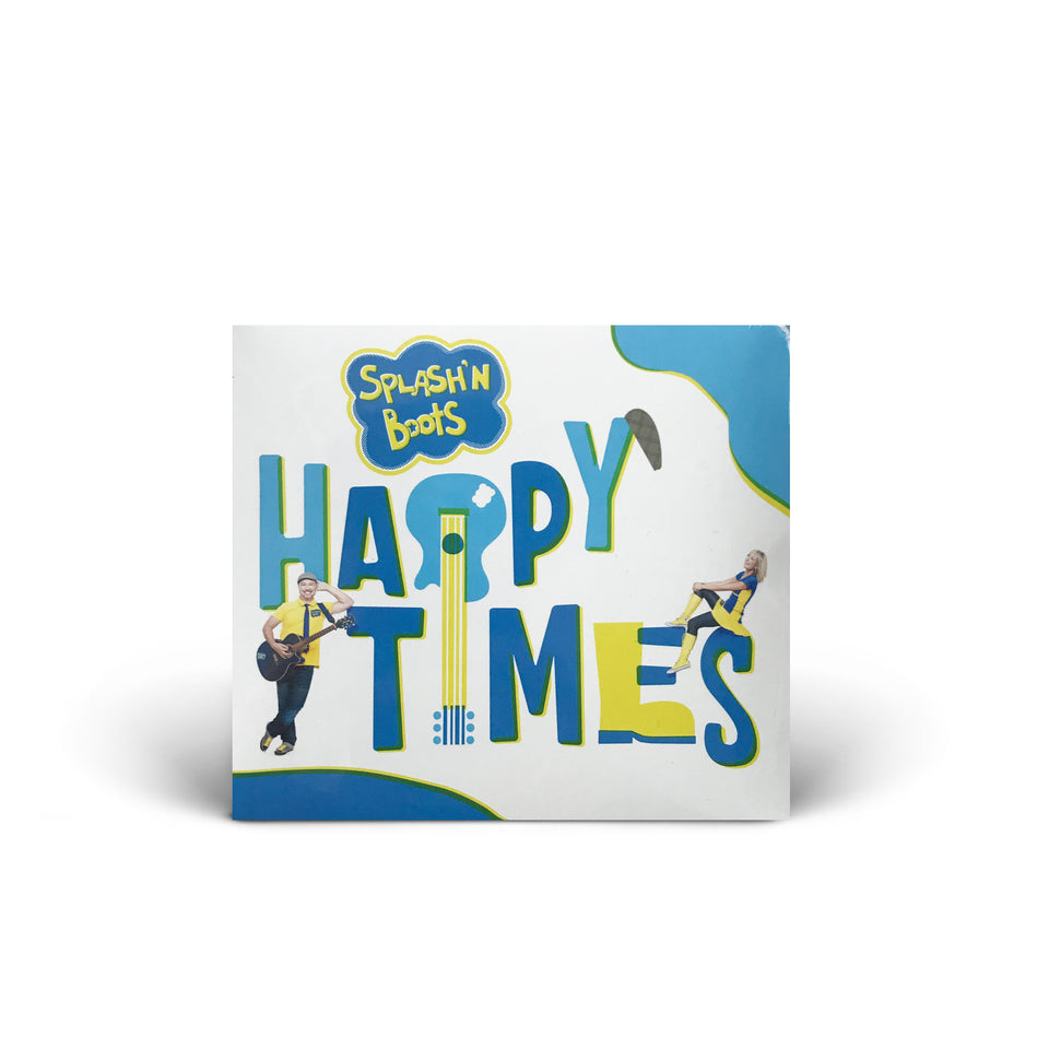 Splash N Boots - Happy Times - CD Album
