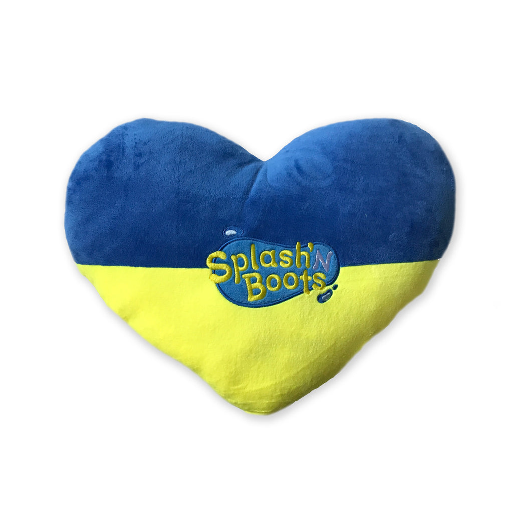 Splash N Boots - Big Heart Pillow