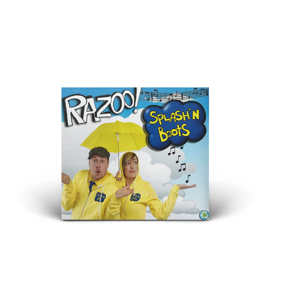 Splash N Boots - Razoo - CD Album