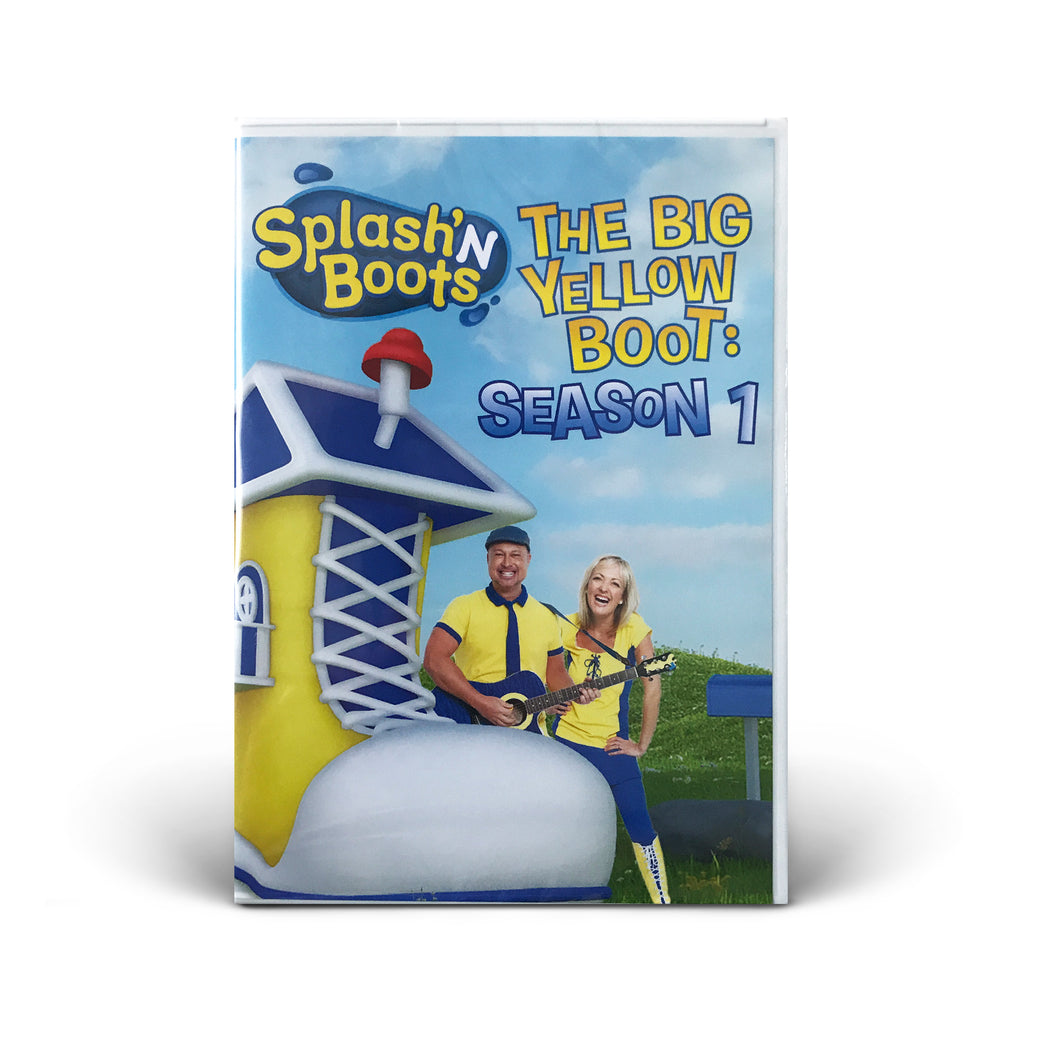 Splash N Boots - The Big Yellow Boot: Season 1 - DVD