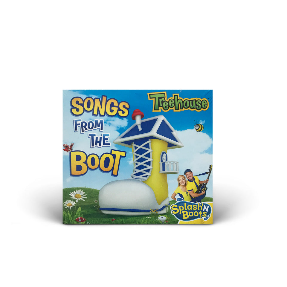 Splash N Boots - Songs From The Boot - CD Album