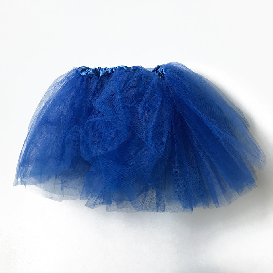 Splash N Boots - Blue Tutu