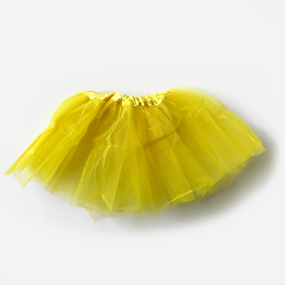 Splash N Boots - Yellow Tutu