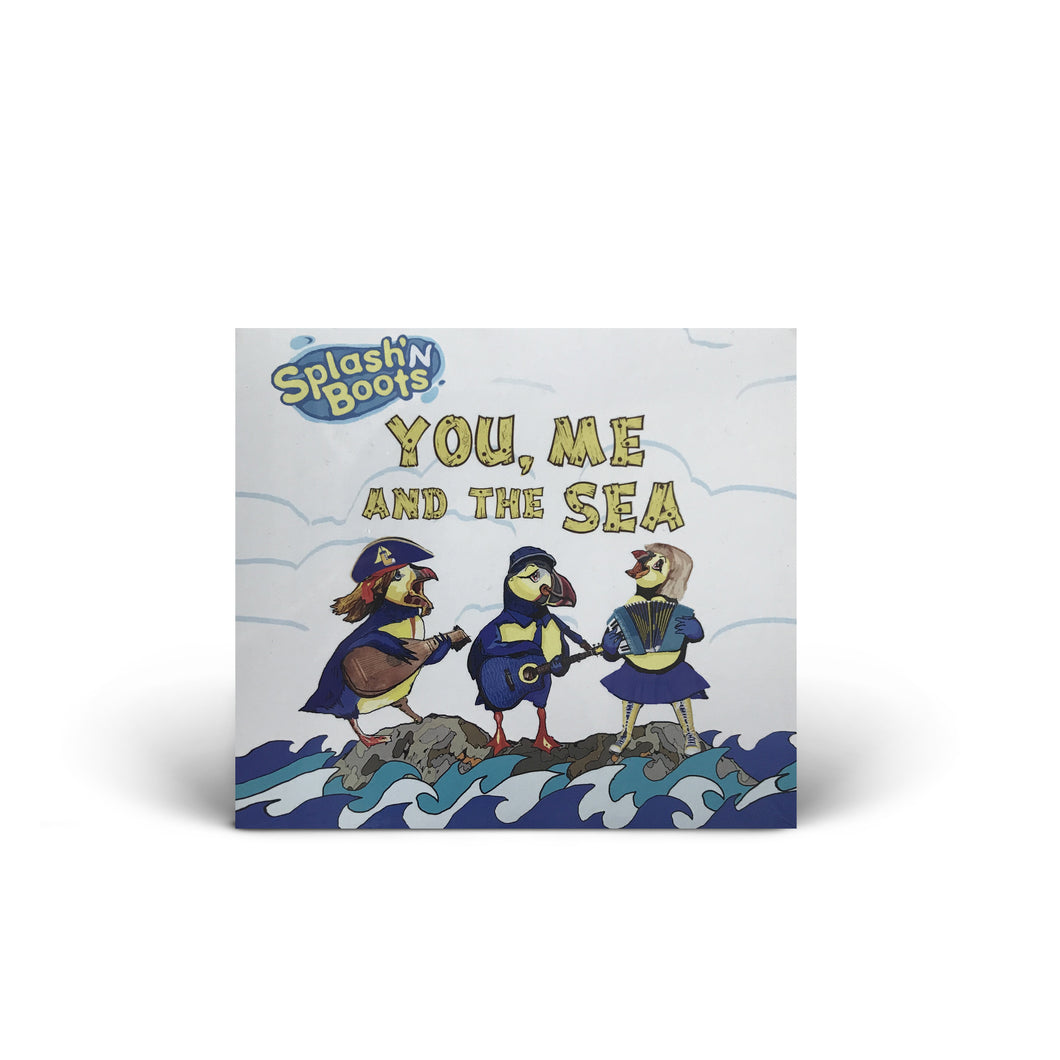 Splash N Boots - You, Me and the Sea - CD Album