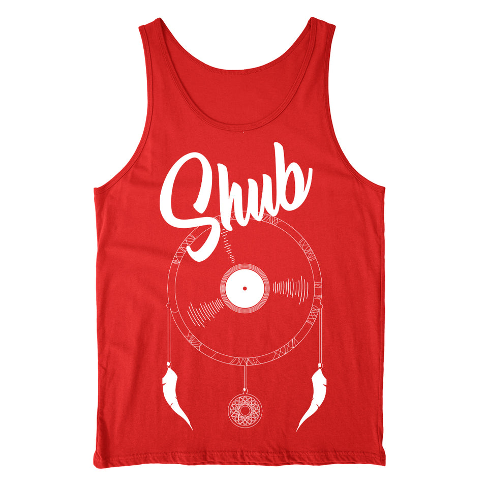 DJ Shub - Dream Catcher - Red Tank Top