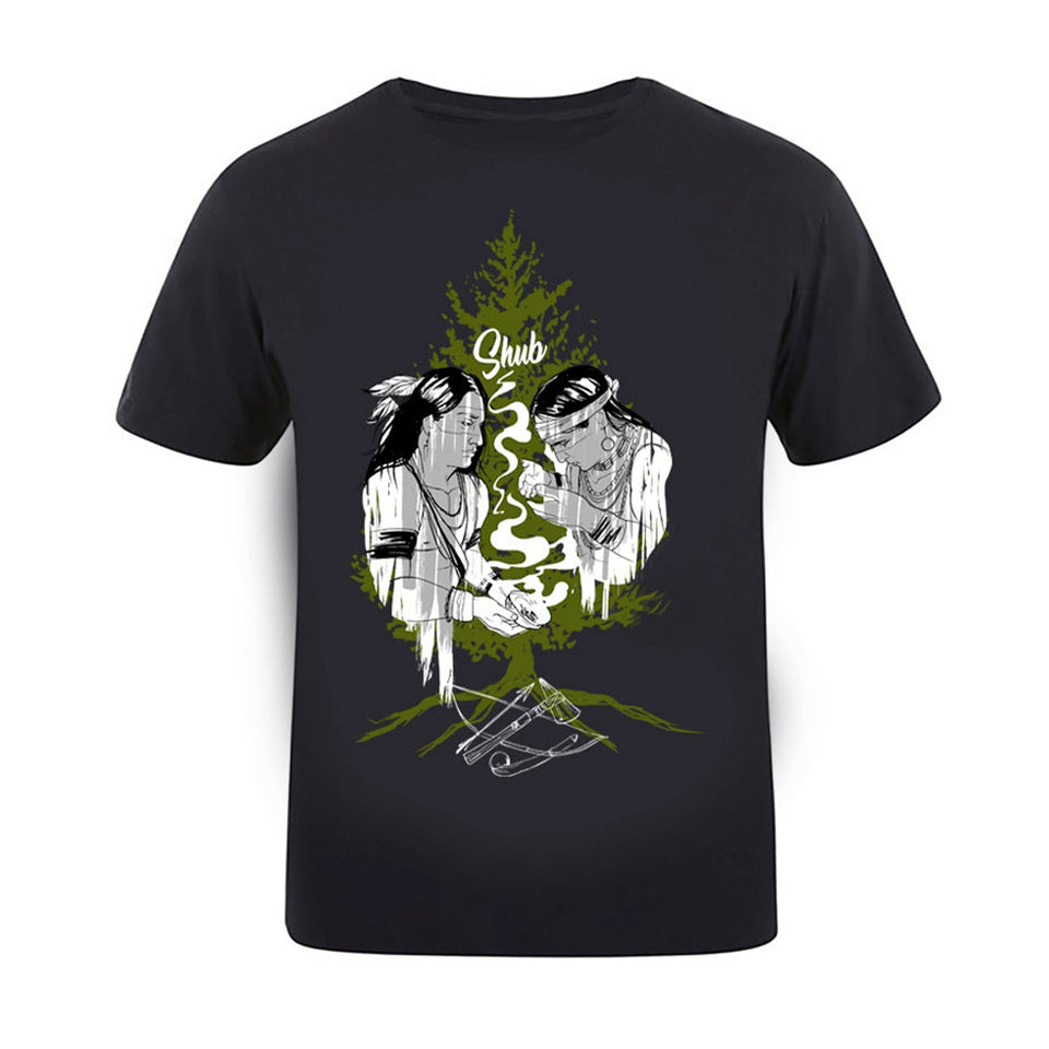 DJ Shub - Tree Of Peace - Black Tee