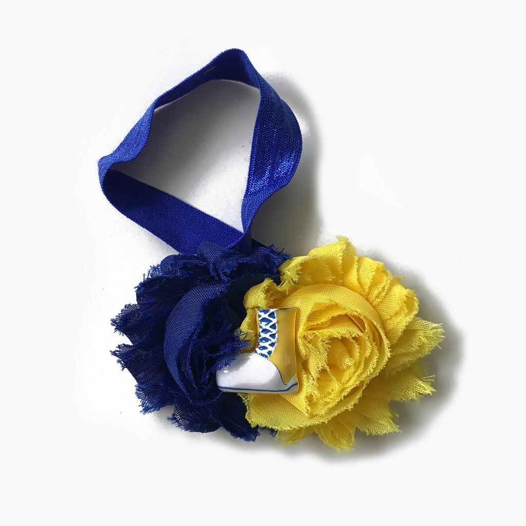 Splash N Boots - Big Yellow Boot Headband