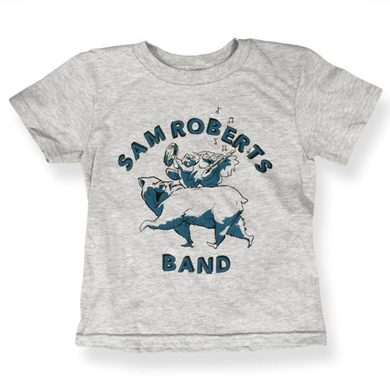 SRB -Bear- Athletic Gray Toddler Tee